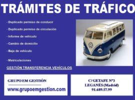Inspecciones en carreteras a furgonetas, camiones y autobuses.